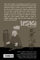 Verso de Usagi Yojimbo -30- Volume 30
