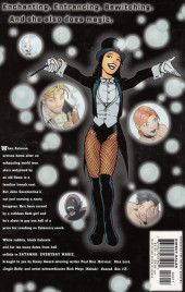 Verso de Zatanna: Everyday Magic (2003) - Zatanna: Everyday Magic