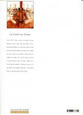 Verso de Le chant du cygne - Tome INT