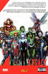 Verso de Marvel Legacy - Avengers (Marvel France - 2018) -4- Jusqu'à la mort (II)