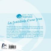 Verso de Contes et Mythes Japonais - La Gratitude d'une Grue