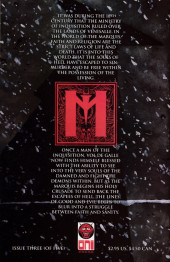 Verso de Marquis: Danse Macabre (The) (2000) -3- The Marquis: Danse Macabre #3