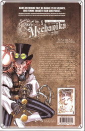 Verso de Lady Mechanika -5- La machine à assassiner