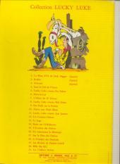 Verso de Lucky Luke -14a64- Ruée sur l'Oklahoma