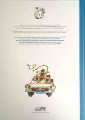 Verso de Spirou et Fantasio -22TT- L'abbaye truquée