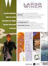 Verso de Largo Winch -HS4- Tout Largo Winch - L'encyclopédie illustrée