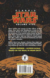 Verso de Classic Star Wars: Han Solo at Stars' End (1997) -INT- Han Solo at Star's End