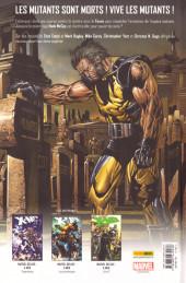 Verso de X-Men - Espèce en danger