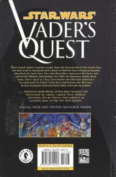 Verso de Star Wars: Vader's Quest (1999) -INT- Vader's Quest