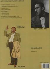 Verso de Blake et Mortimer (Les Aventures de) -2b1993- Le Secret de l'Espadon - Tome 2