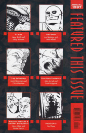 Verso de Dark Horse Presents (1986) -AN1997- Dark Horse Presents Annual 1997