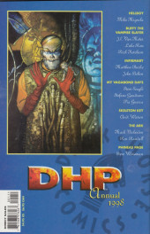 Verso de Dark Horse Presents (1986) -AN1998- Dark Horse Presents Annual 1998