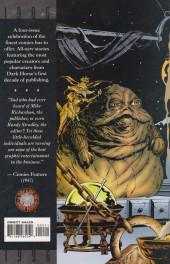 Verso de A decade of Dark Horse (1996) -2- A decade of Dark Horse #2