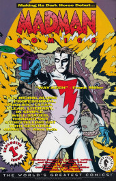Verso de Dark Horse Presents (1986) -83- Dark Horse Presents #83