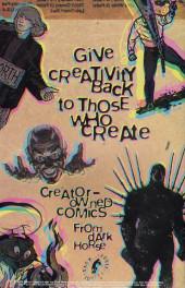 Verso de Dark Horse Presents (1986) -91- Dark Horse Presents #91