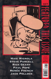 Verso de Dark Horse Presents (1986) -107- Dark Horse Presents #107
