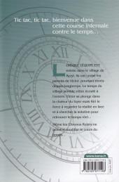 Verso de Chronos Ruler -5- Tome 5