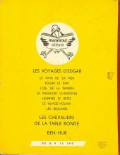 Verso de (AUT) Joubert - Les voyages d'Edgar - Edgar et Sam