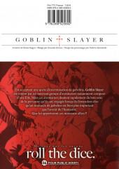 Verso de Goblin Slayer -2- Tome 2