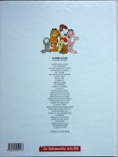 Verso de Garfield -18Ind2018- Garfield dort sur ces deux oreilles