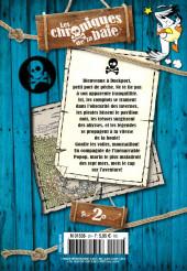 Verso de Mickey Parade Géant Hors-série / collector -HS18- les Chroniques de la baie - Tome 2 : Pirates en vue !