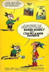 Verso de Le vieux Nick et Barbe-Noire -3- Les mangeurs de citron