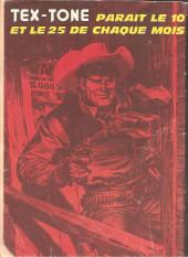 Verso de Tex-Tone -351- Le butin caché