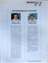 Verso de La rage de gagner (Renault F1) -01- Brésil