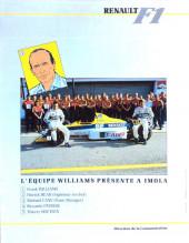 Verso de La rage de gagner (Renault F1) -03- Monaco