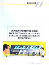 Verso de La rage de gagner (Renault F1) -07- France