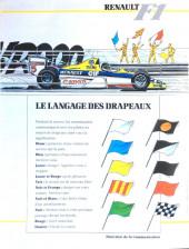 Verso de La rage de gagner (Renault F1) -08- Grande Bretagne