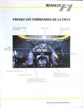 Verso de La rage de gagner (Renault F1) -09- Allemagne