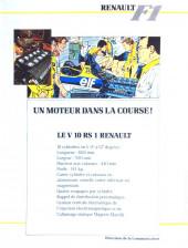 Verso de La rage de gagner (Renault F1) -06- Canada