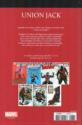 Verso de Marvel Comics : Le meilleur des Super-Héros - La collection (Hachette) -73- Union jack