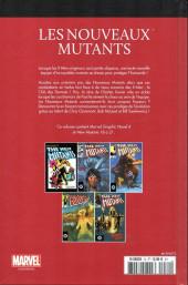 Verso de Marvel Comics : Le meilleur des Super-Héros - La collection (Hachette) -72- Les nouveaux mutants