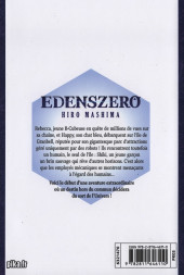 Verso de Edens zero -1- Dans le ciel de Sakura