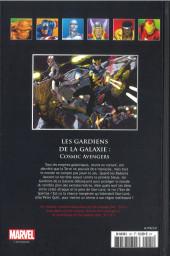 Verso de Marvel Comics - La collection (Hachette) -12193- Les Gardiens de la Galaxie - Cosmic Avengers