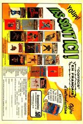 Verso de L'Étonnant Spider-Man (Éditions Héritage) -22- La lutte et la furie!