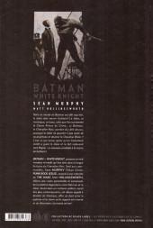 Verso de Batman : White Knight
