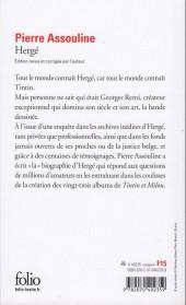 Verso de (AUT) Hergé -17c16- Hergé