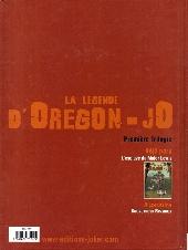 Verso de La légende d'Oregon-Jo -1- L'esclave du Major Lewis