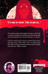 Verso de Vampironica (2018) -4- It's Now Or Never. Time To Joint Us...