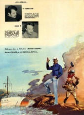 Verso de Bernard Prince -2- Tonnerre sur Coronado