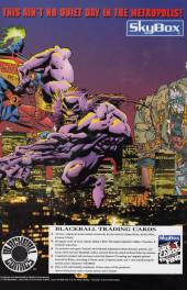 Verso de Monster Massacre (1993) -SP1- Monster Massacre Special #1