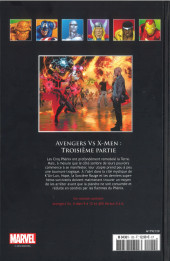 Verso de Marvel Comics - La collection (Hachette) -12079- Avengers Vs X-Men - Troisème Partie