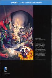 Verso de DC Comics - Le Meilleur des Super-Héros -Premium04- Brightest Day - Tome 1 - Secondes Chances