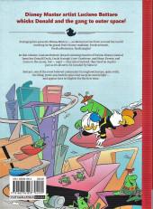 Verso de Disney Masters -2- Donald duck : uncle scrooge's money rocket
