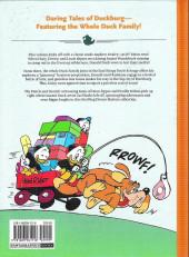 Verso de Disney Masters -4- Donald duck : the great survival test