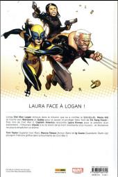 Verso de All-New Wolverine -3- Ennemie d'état