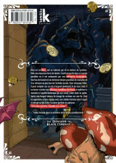 Verso de Dungeon of Black Company (The) -2- Tome 2